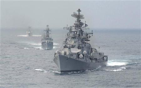 Indian Navy Warship